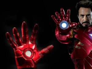 guantes cosplay iron man