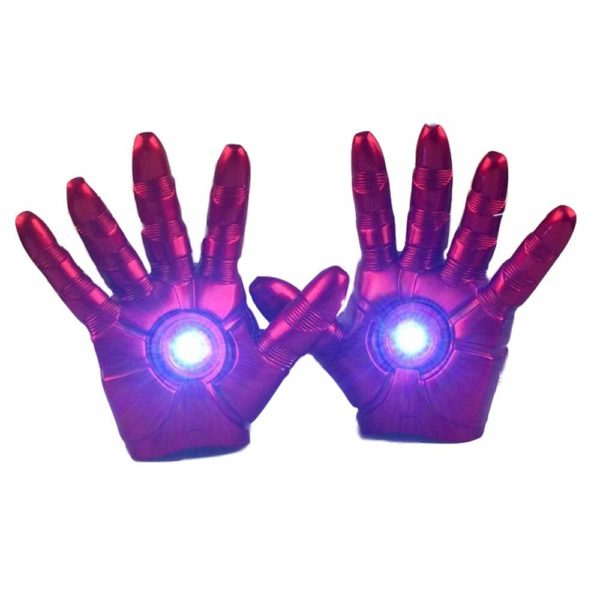 guantes ironman cosplay