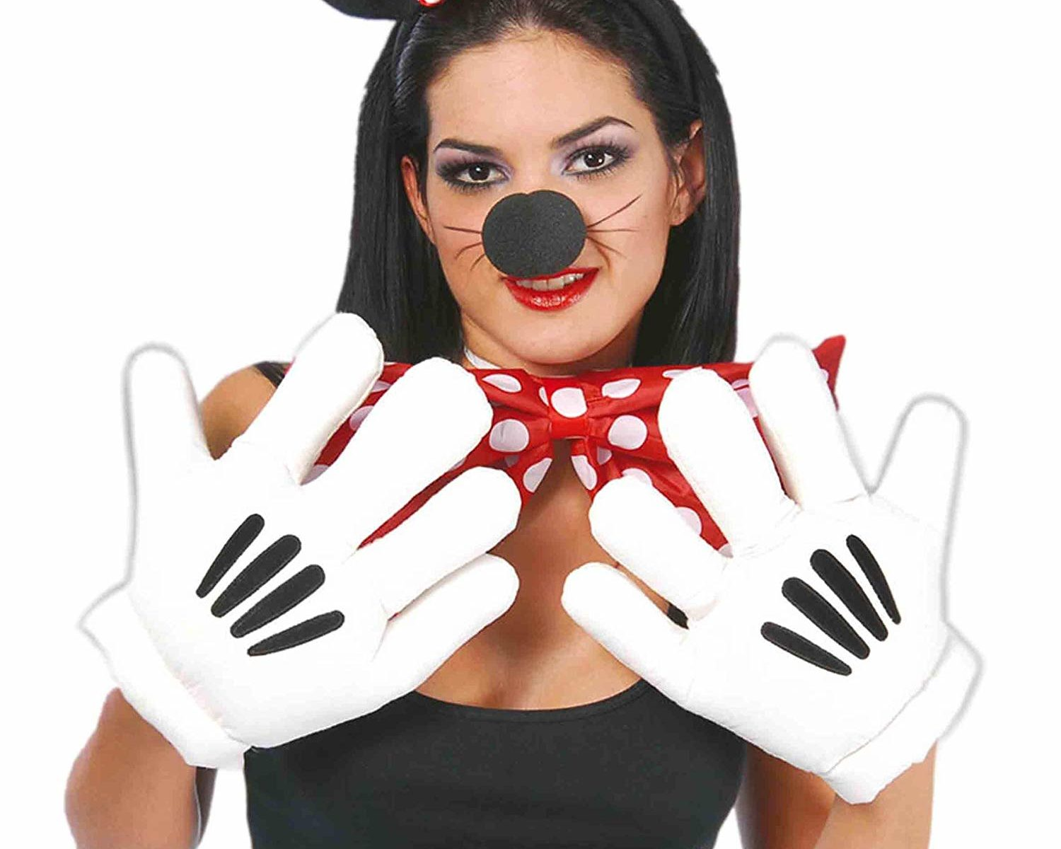 guantes cosplay mickey mousse
